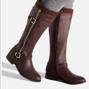 BNWOT Purple Boots